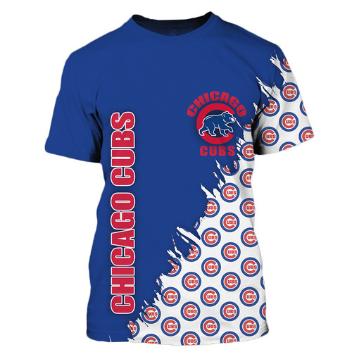 **(OFFICIALLY-LICENSED-M.L.B.CHICAGO-CUBS-TEAM-TEES/NICE-CUSTOM-DETAILED-3D-GRAPHIC-PRINTED/PREMIUM-ALL-OVER-DOUBLE-SIDED-PRINT/OFFICIAL-CUBS-TEAM-COLORS & CLASSIC-CUBS-BASEBALL-3D-GRAPHIC-LOGOS/PREMIUM-CUSTOM-M.L.B.OFFICIAL-CHICAGO-CUBS-TEAM-TEES)**