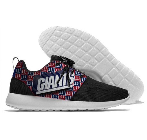 **(NEW-OFFICIALLY-LICENSED-N.F.L.NEW-YORK-GIANTS-RUNNING-SHOES,MENS-OR-WOMENS-ROSHE-STYLE/LIGHT-WEIGHT-SPORT-PREMIUM-RUNNING-SHOES,WITH-OFFICIAL-GIANTS-TEAM-COLORS & GIANTS-TEAM-LOGOS/WITH-SPECIAL-CUSHIONED-COMFORT-INSOLES & COMES-IN-ALL-SIZES:)**