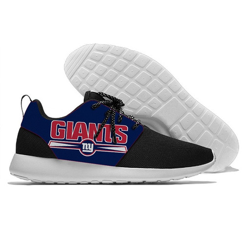 **(OFFICIALLY-LICENSED-N.F.L.NEW-YORK-GIANTS-RUNNING-SHOES,MENS-OR-WOMENS-ROSHE-STYLE/LIGHT-WEIGHT-SPORT-PREMIUM-RUNNING-SHOES,WITH-OFFICIAL-GIANTS-TEAM-COLORS & GIANTS-TEAM-LOGOS/WITH-SPECIAL-CUSHIONED-COMFORT-INSOLES/TRENDY-NEW-TEAM-STYLES:)**