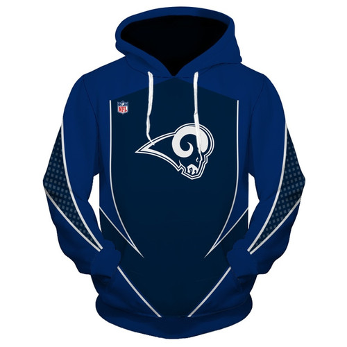 **(OFFICIALLY-LICENSED-N.F.L.LOS-ANGELES-RAMS-TRENDY-PULLOVER-TEAM-HOODIES/NICE-CUSTOM-3D-GRAPHIC-PRINTED-DOUBLE-SIDED-ALL-OVER-OFFICIAL-RAMS-LOGOS & RAMS-OFFICIAL-TEAM-COLORS/WARM-PREMIUM-OFFICIAL-N.F.L.RAMS-TEAM-PULLOVER-POCKET-HOODIES:)**