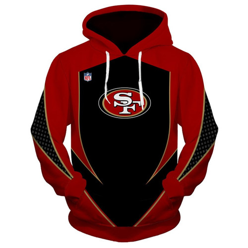 **(OFFICIAL-N.F.L.SAN-FRANCISCO-49ERS-TEAM-PULLOVER-HOODIES/NEW-CUSTOM-3D-GRAPHIC-PRINTED-DOUBLE-SIDED-DESIGNED/ALL-OVER-OFFICIAL-49ERS-LOGOS & OFFICIAL-CLASSIC-49ERS-TEAM-COLORS/WARM-PREMIUM-OFFICIAL-N.F.L.49ERS-TEAM-PULLOVER-POCKET-HOODIES)**