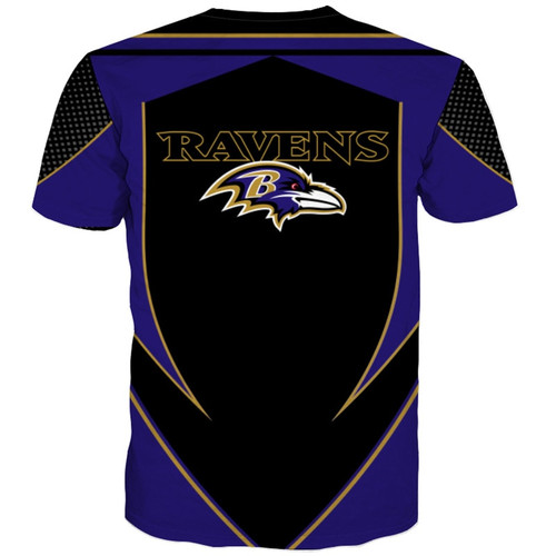 **(OFFICIALLY-LICENSED-N.F.L.BALTIMORE-RAVENS-TEAM-TEES/NEW-CUSTOM-3D-EFFECT-GRAPHIC-PRINTED-DOUBLE-SIDED-DESIGNED/ALL-OVER-OFFICIAL-RAVENS-LOGOS & IN-CLASSIC-OFFICIAL-RAVENS-TEAM-COLORS/NICE-PREMIUM-OFFICIAL-N.F.L.RAVENS-TRENDY-TEAM-TEES)**