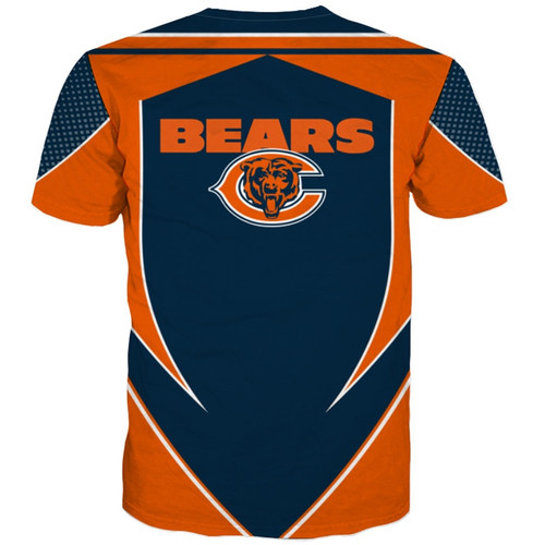 **(OFFICIALLY-LICENSED-N.F.L.CHICAGO-BEARS-TEAM-TEES/NEW-CUSTOM-3D-EFFECT-GRAPHIC-PRINTED-DOUBLE-SIDED-DESIGNED/ALL-OVER-OFFICIAL-BEARS-LOGOS & IN-CLASSIC-OFFICIAL-BEARS-TEAM-COLORS/NICE-PREMIUM-OFFICIAL-N.F.L.BEARS-TRENDY-TEAM-TEES)**