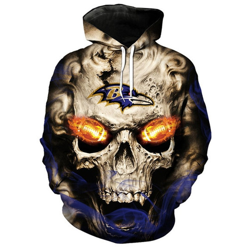 **(OFFICIALLY-LICENSED-N.F.L.BALTIMORE-RAVENS/TRENDY-PULLOVER-HOODIES & NEON-GLOWING-FIERY-RAVENS-FOOTBALL-EYES/NICE-CUSTOM-3D-EFFECT-GRAPHIC-PRINTED-ALL-OVER-DOUBLE-SIDED/RAVENS-FOOTBALL-LOGOS & TEAM-COLORS/PREMIUM-PULLOVER-POCKET-HOODIES)**