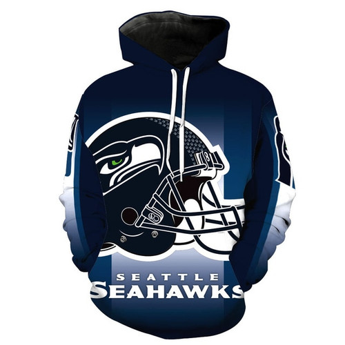 **(OFFICIALLY-LICENSED-N.F.L.SEATTLE-SEAHAWKS-TRENDY-PULLOVER-TEAM-HOODIES/NICE-CUSTOM-3D-EFFECT-GRAPHIC-PRINTED-DOUBLE-SIDED-ALL-OVER-OFFICIAL-SEAHAWKS-LOGOS & IN-OFFICIAL-SEAHAWKS-TEAM-COLORS/WARM-PREMIUM-OFFICIAL-TEAM-PULLOVER-POCKET-HOODIES)**