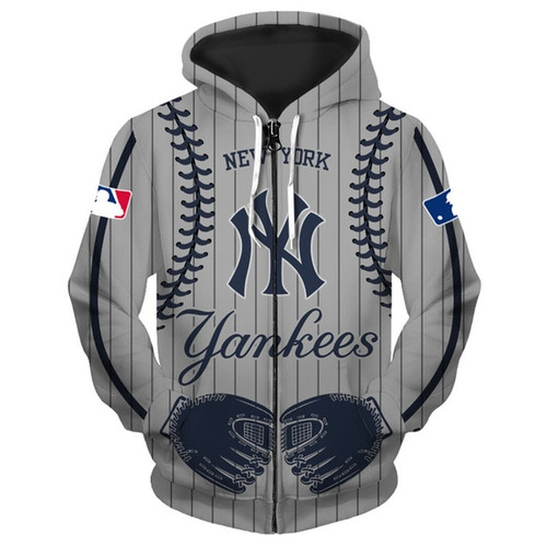 **(OFFICIALLY-LICENSED-M.L.B. NEW-YORK-YANKEES-TEAM-HOODIES/NICE-CUSTOM-DETAILED-3D-GRAPHIC-PRINTED/PREMIUM-ALL-OVER-DOUBLE-SIDED-PRINT/OFFICIAL-YANKEES-TEAM-COLORS & CLASSIC-YANKEES-BASEBALL-3D-STITCHING-GRAPHICS/PREMIUM-FRONT-ZIPPERED-HOODIES)**