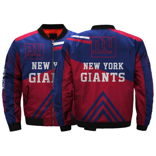 **(OFFICIALLY-LICENSED-N.F.L.NEW-YORK-GIANTS/CLASSIC-GIANTS-OFFICIAL-TEAM-COLORS & OFFICIAL-GIANTS-LOGOS,CLASSIC-BOMBER/MA-1 FLIGHT-JACKET & NICE-CUSTOM-3D-ALL-OVER-GRAPHIC-PRINTED-DOUBLE-SIDED-DESIGN/ZIP-UP-FRONT-GIANTS-TEAM-FLIGHT-JACKETS)**