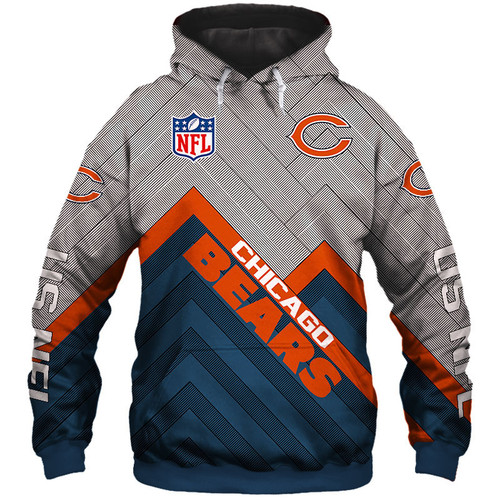 **(NEW-OFFICIAL-N.F.L.CHICAGO-BEARS-PULLOVER-HOODIES/3D-CUSTOM-BEARS-LOGOS & OFFICIAL-BEARS-TEAM-COLORS/NICE-3D-DETAILED-GRAPHIC-PRINTED-DOUBLE-SIDED/ALL-OVER-ENTIRE-HOODIE-PRINTED-DESIGN/TRENDY-WARM-PREMIUM-N.F.L.BEARS-PULLOVER-HOODIES)**