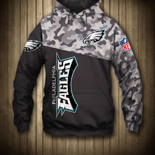 **(NEW-OFFICIAL-N.F.L.PHILADELPHIA-EAGLES-CAMO.DESIGN-PULLOVER-HOODIES/3D-CUSTOM-EAGLES-LOGOS & OFFICIAL-TEAM-COLORS/NICE-3D-GRAPHIC-PRINTED-DOUBLE-SIDED/ALL-OVER-ENTIRE-HOODIE-DESIGN-PRINTING/TRENDY-WARM-PREMIUM-EAGLES-PULLOVER-POCKET-HOODIES)**