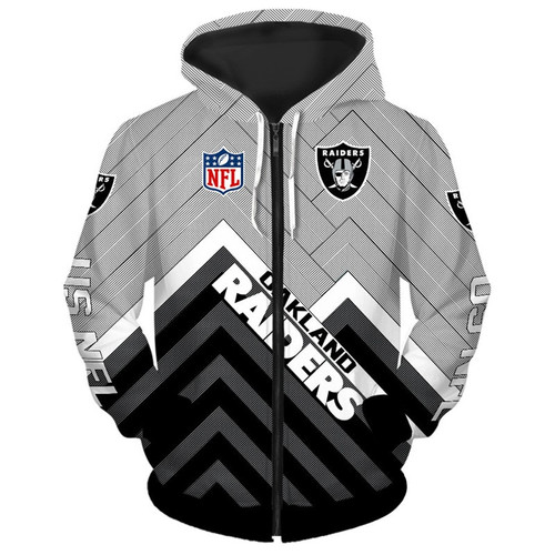 **(NEW-OFFICIAL-N.F.L.OAKLAND-RAIDERS-ZIPPERED-HOODIES/3D-CUSTOM-RAIDERS-LOGOS & OFFICIAL-RAIDERS-TEAM-COLORS/NICE-3D-DETAILED-GRAPHIC-PRINTED-DOUBLE-SIDED/ALL-OVER-ENTIRE-HOODIE-PRINTED-DESIGN/TRENDY-WARM-PREMIUM-RAIDERS-ZIPPERED-HOODIES)**