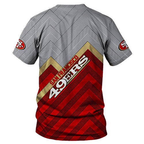 **(OFFICIAL-N.F.L.SAN-FRANCISCO-49ERS-TEAM-TEES/NICE-3D-CUSTOM-49ERS-LOGOS & OFFICIAL-49ERS-CLASSIC-TEAM-COLORS/NICE-3D-DETAILED-GRAPHIC-PRINTED-DOUBLE-SIDED/ALL-OVER-ENTIRE-TEE-SHIRT-PRINTED-DESIGN/TRENDY-PREMIUM-N.F.L.49ERS-GAME-DAY-TEES)**