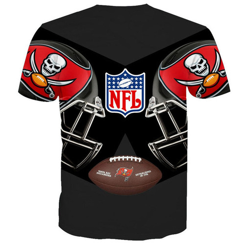 **(OFFICIALLY-LICENSED-N.F.L.TAMPA-BAY-BUCCANEERS-TEAM-TEES/NEW-CUSTOM-3D-GRAPHIC-PRINTED-DOUBLE-SIDED-DESIGNED/ALL-OVER-OFFICIAL-BUCCANEERS-LOGOS & IN-BUCCANEERS-TEAM-COLORS/NICE-PREMIUM-OFFICIAL-N.F.L.BUCCANEERS-TEAM/GAME-DAY-TEES)**