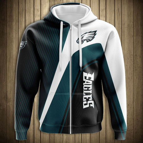 **(OFFICIAL-N.F.L.PHILADELPHIA-EAGLES-ZIPPERED-HOODIES/3D-CUSTOM-EAGLES-LOGOS & OFFICIAL-EAGLES-TEAM-COLORS/NICE-3D-DETAILED-GRAPHIC-PRINTED-DOUBLE-SIDED/ALL-OVER-ENTIRE-HOODIE-PRINTED-DESIGN/TRENDY-WARM-PREMIUM-N.F.L.EAGLES-ZIPPERED-HOODIES)**