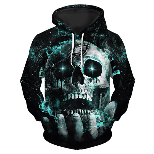 **(OFFICIAL-N.F.L.PHILADELPHIA-EAGLES-TEAM-PULLOVER-NEON-SKULL-HOODIES/CUSTOM-3D-NEON-GRAPHIC-PRINTED-DOUBLE-SIDED-ALL-OVER-OFFICIAL-EAGLES-LOGOS & IN-EAGLES-TEAM-COLORS/WARM-PREMIUM-OFFICIAL-N.F.L.EAGLES/NEW-TRENDY-TEAM-PULLOVER-POCKET-HOODIES)**