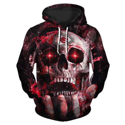 **(OFFICIAL-N.F.L.KANSAS-CITY-CHIEFS-TEAM-PULLOVER-NEON-SKULL-HOODIES/CUSTOM-3D-NEON-GRAPHIC-PRINTED-DOUBLE-SIDED-ALL-OVER-OFFICIAL-CHIEFS-LOGOS & IN-CHIEFS-TEAM-COLORS/WARM-PREMIUM-OFFICIAL-N.F.L.CHIEFS/TRENDY-NEW-TEAM-PULLOVER-POCKET-HOODIES)**