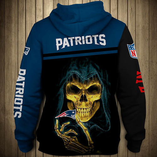 **(OFFICIAL-N.F.L.NEW-ENGLAND-PATRIOTS-TEAM-ZIPPERED-HOODIES/NICE-CUSTOM-3D-GRAPHIC-PRINTED-DOUBLE-SIDED-ALL-OVER-DESIGN & GRAPHIC-PATRIOTS-LOGOS & OFFICIAL-PATRIOTS-TEAM-COLORS/WARM-PREMIUM-OFFICIAL-N.F.L.PATRIOTS-TEAM-ZIPPERED-GAME-DAY-HOODIES)**