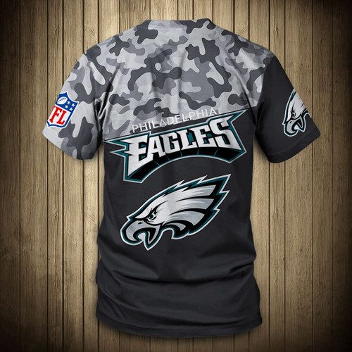 **(OFFICIAL-N.F.L.PHILADELPHIA-EAGLES-CAMO.DESIGN-TEAM-TEES/CUSTOM-3D-EAGLES-OFFICIAL-LOGOS & OFFICIAL-EAGLES-TEAM-COLORS/DETAILED-3D-GRAPHIC-PRINTED-DOUBLE-SIDED/ALL-OVER-FRONT & BACK-GRAPHIC-PRINTED-DESIGN/PREMIUM-N.F.L.EAGLES-CAMO.TEAM-TEES)**