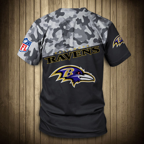 **(OFFICIAL-N.F.L.BALTIMORE-RAVENS-CAMO.DESIGN-TEAM-TEES/CUSTOM-3D-RAVENS-OFFICIAL-LOGOS & OFFICIAL-RAVENS-TEAM-COLORS/DETAILED-3D-GRAPHIC-PRINTED-DOUBLE-SIDED/ALL-OVER-FRONT & BACK-GRAPHIC-PRINTED-DESIGN/PREMIUM-N.F.L.RAVENS-CAMO.TEAM-TEES)**