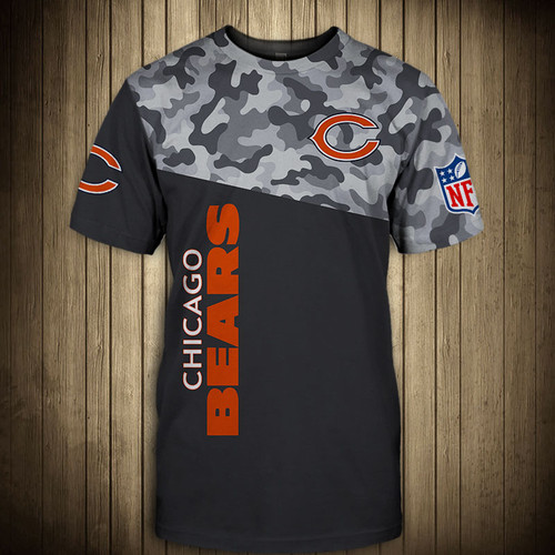 **(OFFICIAL-N.F.L.CHICAGO-BEARS-CAMO.DESIGN-TEAM-TEES/CUSTOM-3D-BEARS-OFFICIAL-LOGOS & OFFICIAL-BEARS-TEAM-COLORS/DETAILED-3D-GRAPHIC-PRINTED-DOUBLE-SIDED/ALL-OVER-FRONT & BACK-GRAPHIC-PRINTED-DESIGN/PREMIUM-N.F.L.BEARS-CAMO.TEAM-TEES)**