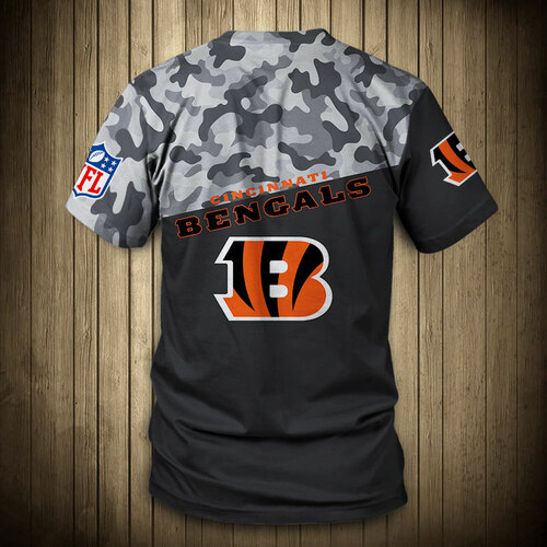 **(OFFICIAL-N.F.L.CINCINNATI-BENGALS-CAMO.DESIGN-TEAM-TEES/CUSTOM-3D-BENGALS-OFFICIAL-LOGOS & OFFICIAL-BENGALS-TEAM-COLORS/DETAILED-3D-GRAPHIC-PRINTED-DOUBLE-SIDED/ALL-OVER-FRONT & BACK-GRAPHIC-PRINTED-DESIGN/PREMIUM-N.F.L.BENGALS-CAMO.TEAM-TEES)**