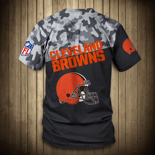 **(OFFICIAL-N.F.L.CLEVELAND-BROWNS-CAMO.DESIGN-TEAM-TEES/CUSTOM-3D-BROWNS-OFFICIAL-LOGOS & OFFICIAL-BROWNS-TEAM-COLORS/DETAILED-3D-GRAPHIC-PRINTED-DOUBLE-SIDED/ALL-OVER-FRONT & BACK-GRAPHIC-PRINTED-DESIGN/PREMIUM-N.F.L.BROWNS-CAMO.TEAM-TEES)**