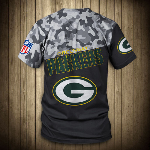 **(OFFICIAL-N.F.L.GREEN-BAY-PACKERS-CAMO.DESIGN-TEAM-TEES/CUSTOM-3D-PACKERS-OFFICIAL-LOGOS & OFFICIAL-PACKERS-TEAM-COLORS/DETAILED-3D-GRAPHIC-PRINTED-DOUBLE-SIDED/ALL-OVER-FRONT & BACK-GRAPHIC-PRINTED-DESIGN/PREMIUM-N.F.L.PACKERS-CAMO.TEAM-TEES)**