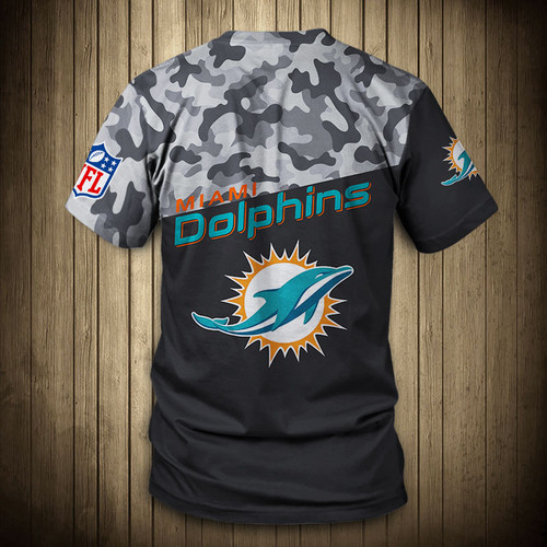 **(OFFICIAL-N.F.L.MIAMI-DOLPHINS-CAMO.DESIGN-TEAM-TEES/CUSTOM-3D-DOLPHINS-OFFICIAL-LOGOS & OFFICIAL-DOLPHINS-TEAM-COLORS/DETAILED-3D-GRAPHIC-PRINTED-DOUBLE-SIDED/ALL-OVER-FRONT & BACK-GRAPHIC-PRINTED-DESIGN/PREMIUM-N.F.L.DOLPHINS-CAMO.TEAM-TEES)**