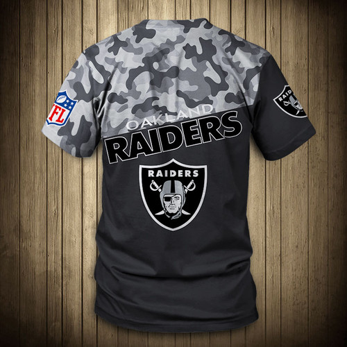 **(OFFICIAL-N.F.L.OAKLAND-RAIDERS-CAMO.DESIGN-TEAM-TEES/CUSTOM-3D-RAIDERS-OFFICIAL-LOGOS & OFFICIAL-RAIDERS-TEAM-COLORS/DETAILED-3D-GRAPHIC-PRINTED-DOUBLE-SIDED/ALL-OVER-FRONT & BACK-GRAPHIC-PRINTED-DESIGN/PREMIUM-N.F.L.RAIDERS-CAMO.TEAM-TEES)**