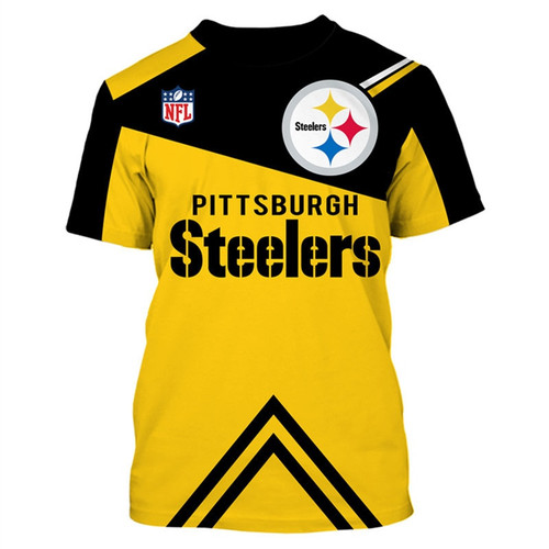 **(OFFICIAL-N.F.L.PITTSBURGH-STEELERS-TRENDY-TEAM-TEES/CUSTOM-3D-STEELERS-OFFICIAL-LOGOS & OFFICIAL-CLASSIC-STEELERS-TEAM-COLORS/DETAILED-3D-GRAPHIC-PRINTED-DOUBLE-SIDED/ALL-OVER-GRAPHIC-PRINTED-DESIGNED/PREMIUM-N.F.L.STEELERS-GAME-DAY-TEAM-TEES)**