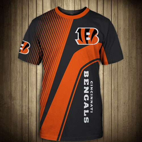 **(OFFICIAL-NEW-N.F.L.CINCINNATI-BENGALS-TRENDY-TEAM-TEES/CUSTOM-3D-BENGALS-OFFICIAL-LOGOS & OFFICIAL-CLASSIC-BENGALS-TEAM-COLORS/DETAILED-3D-GRAPHIC-PRINTED-DOUBLE-SIDED/ALL-OVER-GRAPHIC-PRINTED-DESIGNED/PREMIUM-N.F.L.BENGALS-GAME-DAY-TEAM-TEES)**