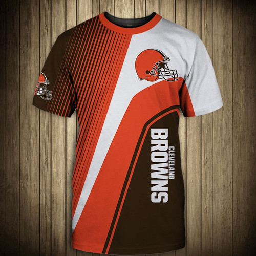 **(OFFICIAL-NEW-N.F.L.CLEVELAND-BROWNS-TRENDY-TEAM-TEES/CUSTOM-3D-BROWNS-OFFICIAL-LOGOS & OFFICIAL-CLASSIC-BROWNS-TEAM-COLORS/DETAILED-3D-GRAPHIC-PRINTED-DOUBLE-SIDED/ALL-OVER-GRAPHIC-PRINTED-DESIGNED/PREMIUM-N.F.L.BROWNS-GAME-DAY-TEAM-TEES)**
