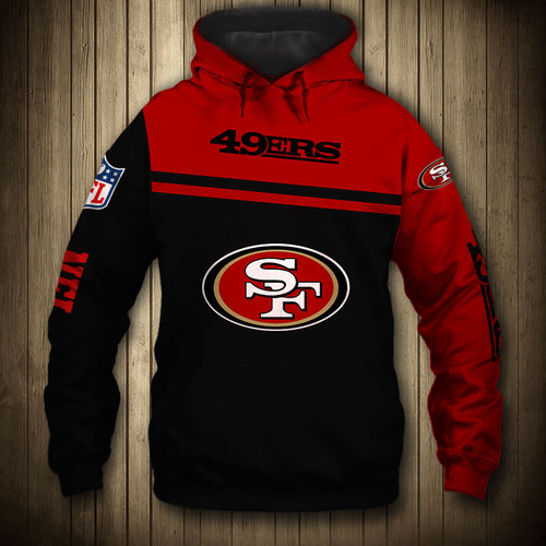 **(OFFICIAL-NEW-N.F.L.SAN-FRANCISCO-49ERS-TEAM-PULLOVER-HOODIES/NICE-CUSTOM-3D-GRAPHIC-PRINTED-DOUBLE-SIDED-ALL-OVER-GRAPHIC-49ERS-LOGOS & OFFICIAL-49ERS-TEAM-COLORS/WARM-PREMIUM-OFFICIAL-N.F.L.49ERS-TEAM-TRENDY-PULLOVER-GAME-DAY-HOODIES)**