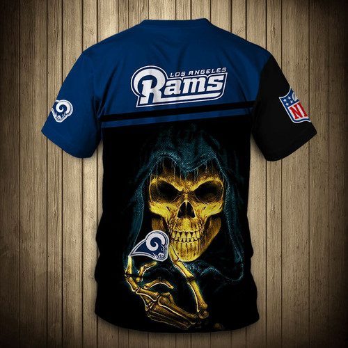 **(OFFICIAL-NEW-N.F.L.LOS-ANGELES-RAMS-TRENDY-TEAM-TEES/CUSTOM-3D-RAMS-OFFICIAL-LOGOS & OFFICIAL-CLASSIC-RAMS-TEAM-COLORS/DETAILED-3D-GRAPHIC-PRINTED-DOUBLE-SIDED/ALL-OVER-GRAPHIC-PRINTED-DESIGN/PREMIUM-N.F.L.RAMS-TEAM-GAME-DAY-TEES)**