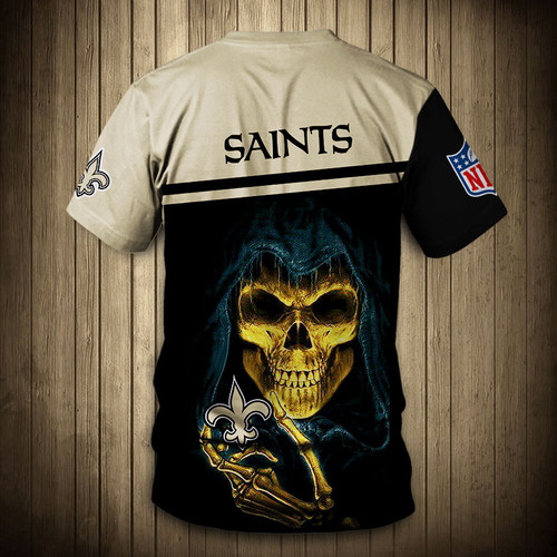 **(OFFICIAL-N.F.L.NEW-ORLEANS-SAINTS-TRENDY-TEAM-TEES/CUSTOM-3D-SAINTS-OFFICIAL-LOGOS & OFFICIAL-CLASSIC-SAINTS-TEAM-COLORS/DETAILED-3D-GRAPHIC-PRINTED-DOUBLE-SIDED/ALL-OVER-GRAPHIC-PRINTED-DESIGN/PREMIUM-N.F.L.SAINTS-TEAM-GAME-DAY-TEES)**