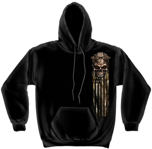 **(NEW-HICK-LIFE,FREEDOM & CROSSED-GUNS/SKULL-OVER-AN-AMERICAN-FLAG,NICE-CUSTOM-GRAPHIC-PRINTED/WARM-PREMIUM-PULLOVER-HOODIES)**