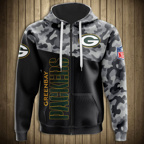 **(OFFICIAL-N.F.L.GREEN-BAY-PACKERS-CAMO.DESIGN-ZIPPERED-HOODIES/3D-CUSTOM-PACKERS-LOGOS & OFFICIAL-PACKERS-TEAM-COLORS/NICE-3D-DETAILED-GRAPHIC-PRINTED-DOUBLE-SIDED/ALL-OVER-ENTIRE-HOODIE-PRINTED-DESIGN/WARM-PREMIUM-N.F.L.PACKERS-ZIPPERED-HOODIES)**