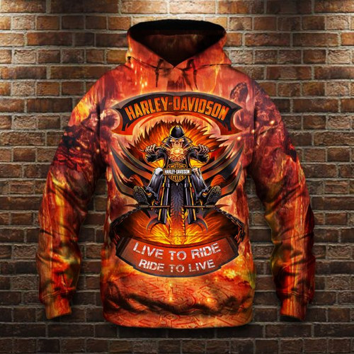 **(OFFICIAL-HARLEY-DAVIDSON-MOTORCYCLE-PULLOVER-HOODIES/LIVE-TO-RIDE & RIDE-TO-LIVE/NICE-3D-CUSTOM-GRAPHIC-PRINTED & DOUBLE-SIDED-ALL-OVER-DESIGN/CLASSIC-OFFICIAL-CUSTOM-HARLEY-LOGOS & OFFICIAL-HARLEY-BLACK & ORANGE-COLORS/PREMIUM-PULLOVER-HOODIES)**