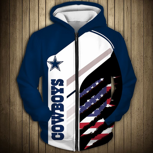 **(OFFICIAL-N.F.L.DALLAS-COWBOYS-TRENDY-ZIPPERED-TEAM-HOODIES/CUSTOM-3D-GRAPHIC-PRINTED-DETAILED-DOUBLE-SIDED-ALL-OVER/CLASSIC-OFFICIAL-COWBOYS-LOGOS & COWBOYS-OFFICIAL-TEAM-COLORS/WARM-PREMIUM-OFFICIAL-N.F.L.COWBOYS-TEAM-PATRIOT-ZIPPERED-HOODIES)**