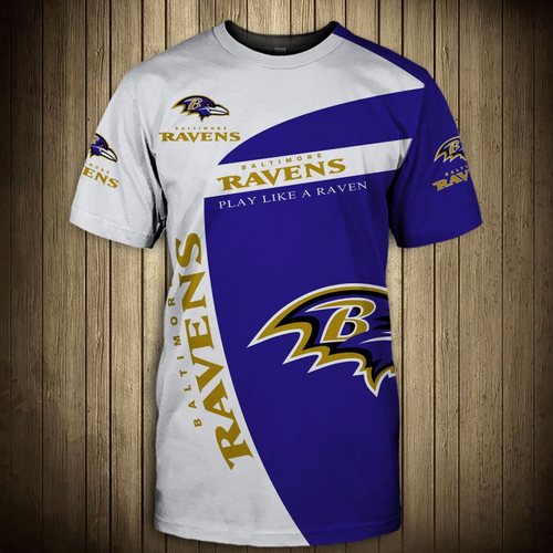 **(OFFICIAL-N.F.L.BALTIMORE-RAVENS-TRENDY-GAME-DAY-TEAM-TEES/CUSTOM-3D-GRAPHIC-PRINTED-DETAILED-DOUBLE-SIDED-ALL-OVER/CLASSIC-OFFICIAL-RAVENS-LOGOS & RAVENS-OFFICIAL-TEAM-COLORS/PREMIUM-STYLISH-N.F.L.RAVENS-TEAM-PATRIOTIC-TEE-SHIRTS)**