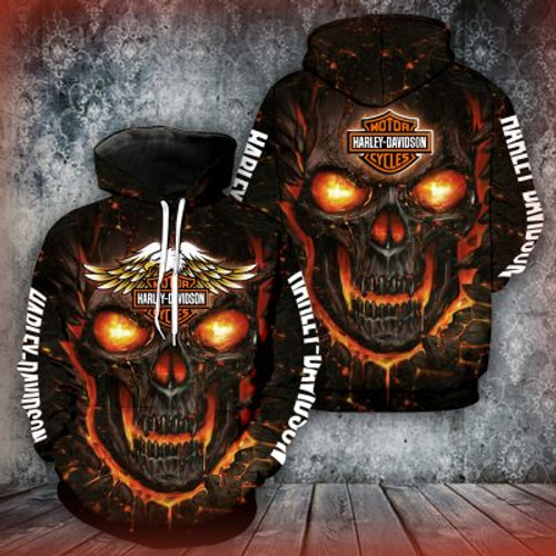 **(OFFICIAL-HARLEY-DAVIDSON-MOTORCYCLE-PULLOVER-HOODIES/3D-GRAPHIC-PRINTED-ORANGE-GLOWING-SKULL-DESIGN/FEATURING-OFFICIAL-CUSTOM-HARLEY-LOGOS & OFFICIAL-CLASSIC-HARLEY-COLORS/3D-DOUBLE-SIDED-ALL-OVER-GRAPHIC-DESIGN/PREMIUM-HARLEY-RIDING-HOODIES)**