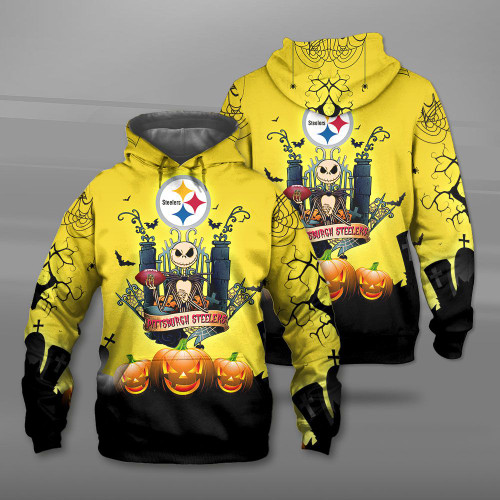 **(OFFICIAL-N.F.L.PITTSBURGH-STEELERS-TEAM-PULLOVER-HOODIES/CUSTOM-3D-STEELERS-OFFICIAL-LOGOS & OFFICIAL-CLASSIC-STEELERS-TEAM-COLORS/DETAILED-3D-GRAPHIC-PRINTED-DOUBLE-SIDED-DESIGN/PREMIUM-N.F.L.STEELERS-HALLOWEEN-NIGHTMARE-THEMED-HOODIES)**