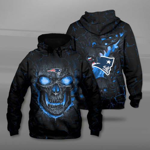*(OFFICIAL-N.F.L.NEW-ENGLAND-PATRIOTS-TEAM-PULLOVER-HOODIES/CUSTOM-3D-PATRIOTS-OFFICIAL-LOGOS & OFFICIAL-CLASSIC-PATRIOTS-TEAM-COLORS/DETAILED-3D-GRAPHIC-PRINTED-DOUBLE-SIDED-DESIGN/PREMIUM-N.F.L.PATRIOTS & BIG-FIREY-SKULL-THEMED-PULLOVER-HOODIES)*