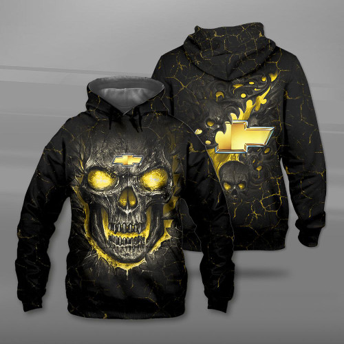 **(BIG-FIREY-YELLOW-SKULL-THEMED-OFFICIAL-NEW-CHEVY-PULLOVER-HOODIES/NICE-CUSTOM-3D-OFFICIAL-CHEVY-LOGOS & OFFICIAL-CLASSIC-CHEVY-COLORS/DETAILED-3D-GRAPHIC-PRINTED-DOUBLE-SIDED-DESIGN/PREMIUM-WARM-TRENDY-CHEVY-PULLOVER-HOODIES)**