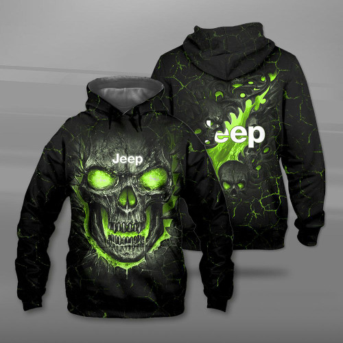 **(BIG-FIREY-GREEN-SKULL-THEMED-OFFICIAL-NEW-JEEP-PULLOVER-HOODIES/NICE-CUSTOM-3D-OFFICIAL-JEEP-LOGOS & OFFICIAL-CLASSIC-JEEP-COLORS/DETAILED-3D-GRAPHIC-PRINTED-DOUBLE-SIDED-DESIGN/PREMIUM-WARM-TRENDY-JEEP-PULLOVER-HOODIES)**