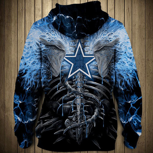 **(OFFICIAL-N.F.L.DALLAS-COWBOYS-ZIPPERED-HOODIES/CUSTOM-3D-NEON-COWBOYS-BLUE-ELECTRIC-SCREAM'IN-SKULLS-PREMIUM-3D-GRAPHIC-PRINTED-COWBOYS-LOGOS & OFFICIAL-CLASSIC-COWBOYS-TEAM-COLORS/DOUBLE-SIDED-GRAPHIC-PRINTED-DESIGN-WARM-ZIPPERED-TEAM-HOODIES)**