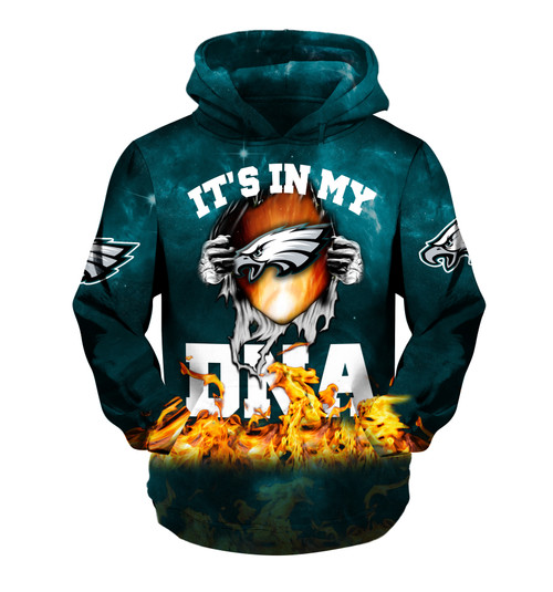 **(OFFICIAL-N.F.L.PHILADELPHIA-EAGLES-TRENDY-TEAM-PULLOVER-HOODIES & IT'S-IN-MY-D.N.A./ALL-NEW-CUSTOM-3D-GRAPHIC-PRINTED-DOUBLE-SIDED-ALL-OVER-OFFICIAL-EAGLES-LOGOS & OFFICIAL-EAGLES-TEAM-COLORS/WARM-PREMIUM-OFFICIAL-N.F.L.EAGLES-TEAM-PULLOVER-HOODIES)**