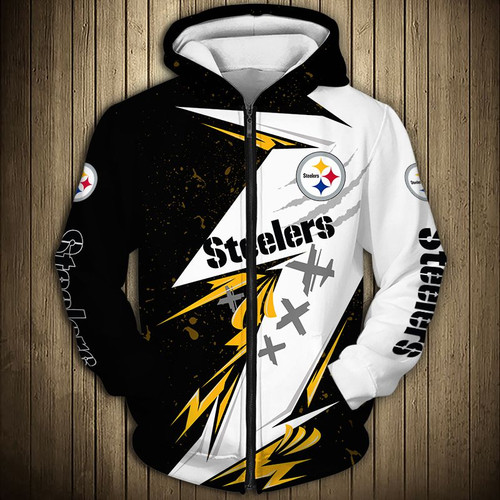 **(NEW-OFFICIAL-N.F.L. PITTSBURGH-STEELERS-TEAM-ZIPPERED-HOODIES/NICE-3D-CUSTOM-DETAILED-GRAPHIC-PRINTED-DOUBLE-SIDED-LOGOS & OFFICIAL-CLASSIC-STEELERS-TEAM-COLORS/NICE-WARM-PREMIUM-ZIPPERED-STEELERS-GAME-DAY-TEAM-HOODIES)**