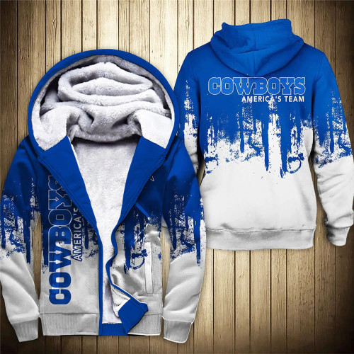 **(OFFICIAL-N.F.L.DALLAS-COWBOYS-FLEECE-ZIPPERED-HOODIES & AMERICA'S-TEAM/OFFICIAL-COWBOYS-TEAM-LOGOS & OFFICIAL-CLASSIC-TEAM-COLORS/NICE-CUSTOM-3D-GRAPHIC-PRINTED-DOUBLE-SIDED-ALL-OVER-DESIGN/WARM-PREMIUM-FLEECE-LINED-COWBOYS-TEAM-ZIP-UP-HOODIES)**