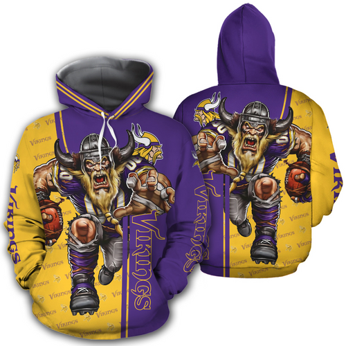 **(OFFICIAL-N.F.L.MINNESOTA-VIKINGS-PULLOVER-HOODIES/OFFICIAL-VIKINGS-LOGOS & OFFICIAL-VIKINGS-CLASSIC-TEAM-COLORS/NICE-3D-DETAILED-GRAPHIC-PRINTED-DOUBLE-SIDED/ALL-OVER-HOODIE-PRINTED-DESIGN/WARM-PREMIUM-N.FL.VIKINGS-GAME-DAY-PULLOVER-TEAM-HOODIE)**