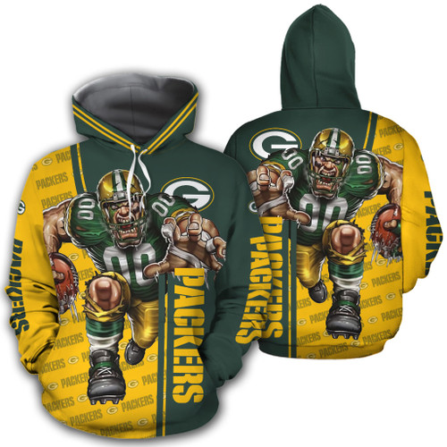 **(OFFICIAL-N.F.L.GREEN-BAY-PACKERS-PULLOVER-HOODIES/OFFICIAL-PACKERS-LOGOS & OFFICIAL-PACKERS-CLASSIC-TEAM-COLORS/NICE-3D-DETAILED-GRAPHIC-PRINTED-DOUBLE-SIDED/ALL-OVER-HOODIE-PRINTED-DESIGN/WARM-PREMIUM-N.FL.PACKERS-GAME-DAY-PULLOVER-TEAM-HOODIE)**
